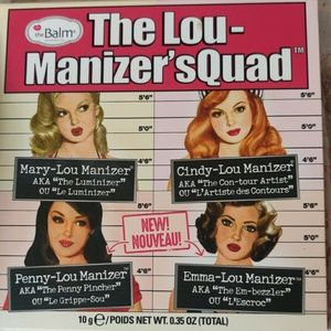 The Balm's Lou-manizer's sQuad Highlighter pallett